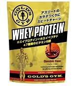 ゴールドジム(GOLD'S GYM) ホエイプロテイン チョコレート風味